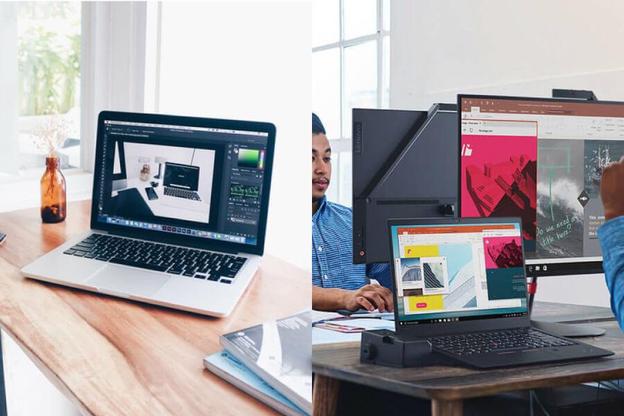 MacBook ProとThinkPad X1 Carbon