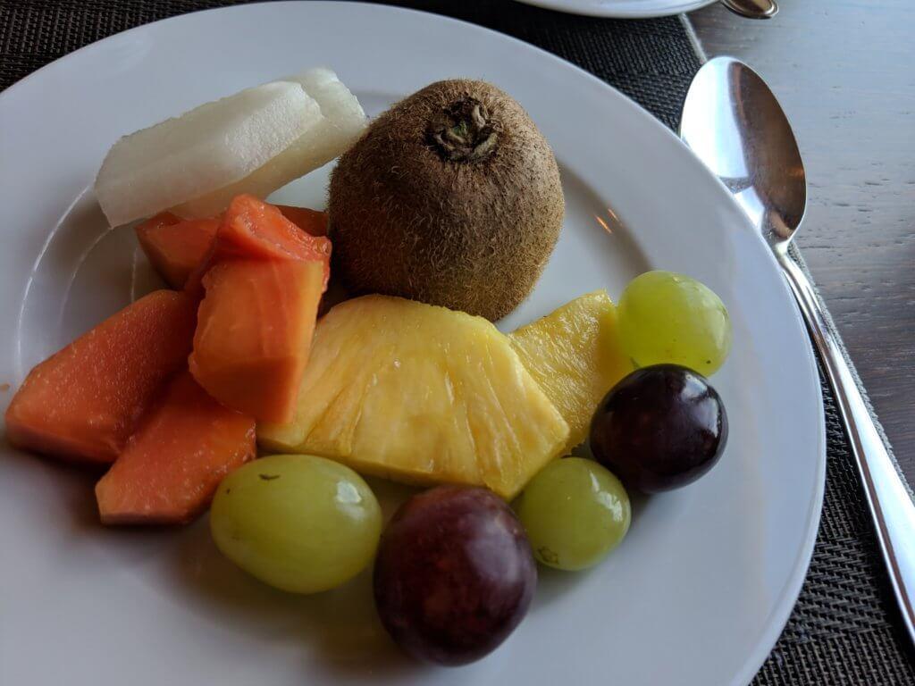 Lisboa Pessoa Hotelの朝食フルーツ